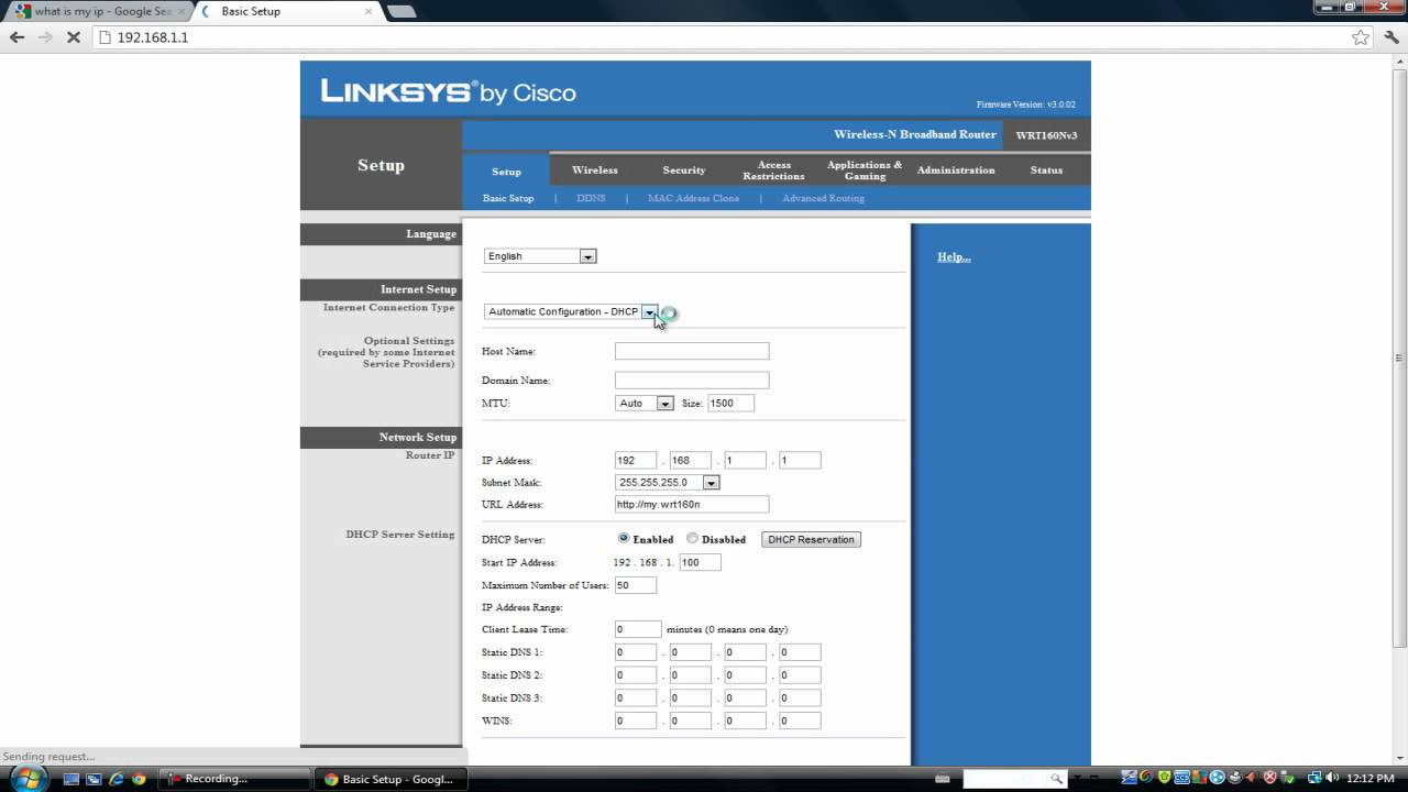 How To Change Your Public IP Address On A Linksys Router [HD]