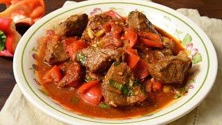 Гуляш из говядины (Рецепт венгерского гуляша)