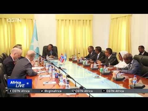 Somalia-Norway Relations: Somali PM meets Norwegian Foreign Minister in Mogadishu