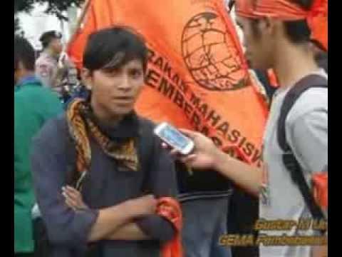 Video Aksi Refleksi Akhir Tahun 2013 GEMA Pembebasan