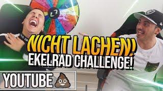 CREWZEMBER Youtube KACKE | NICHT LACHEN! | EKELRAD CHALLENGE!