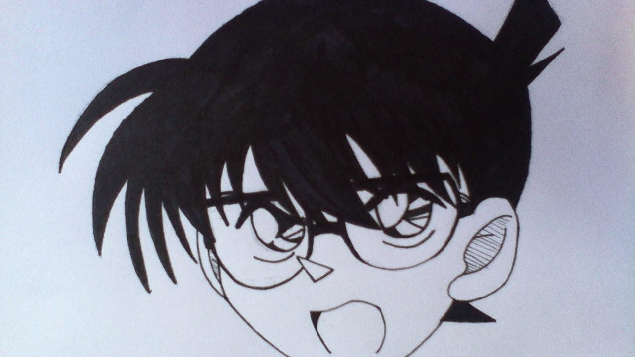 Download Drawing Detective Conan (Conan Edogawa) Case Closed