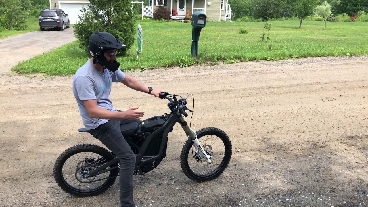 electrek review sur ron is a monster ebike w 50 mile. Black Bedroom Furniture Sets. Home Design Ideas