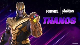 New THANOS Skin in Fortnite! (Avengers: Endgame)