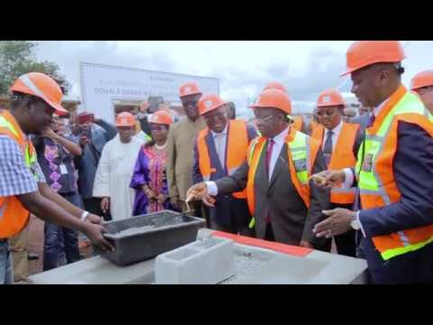 Laying of the foundation stone of Douala Grand Mall and Douala Business Park