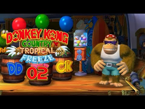 DONKEY KONG COUNTRY: TROPICAL FREEZE - #2 - Let's get Funky! ... Kong ...