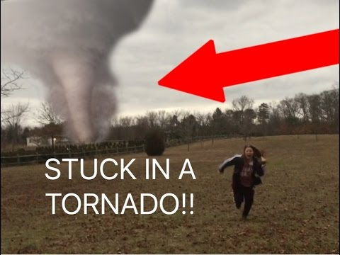 WE GOT STUCK IN A TORNADO!!!!!*Almost Died*