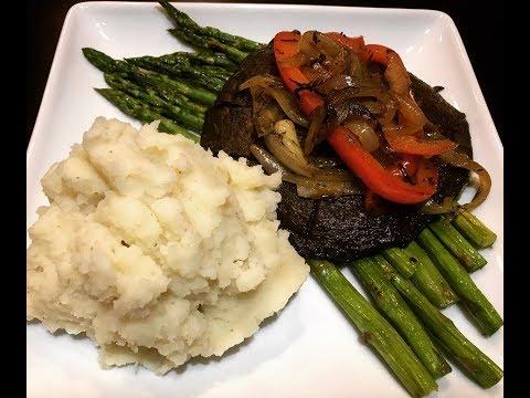 "Mashed Potatoes ""Steak"" Dinner"