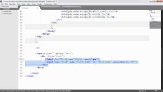 PHP and MySQL with MySQLi: Example Application (Part 8/9)