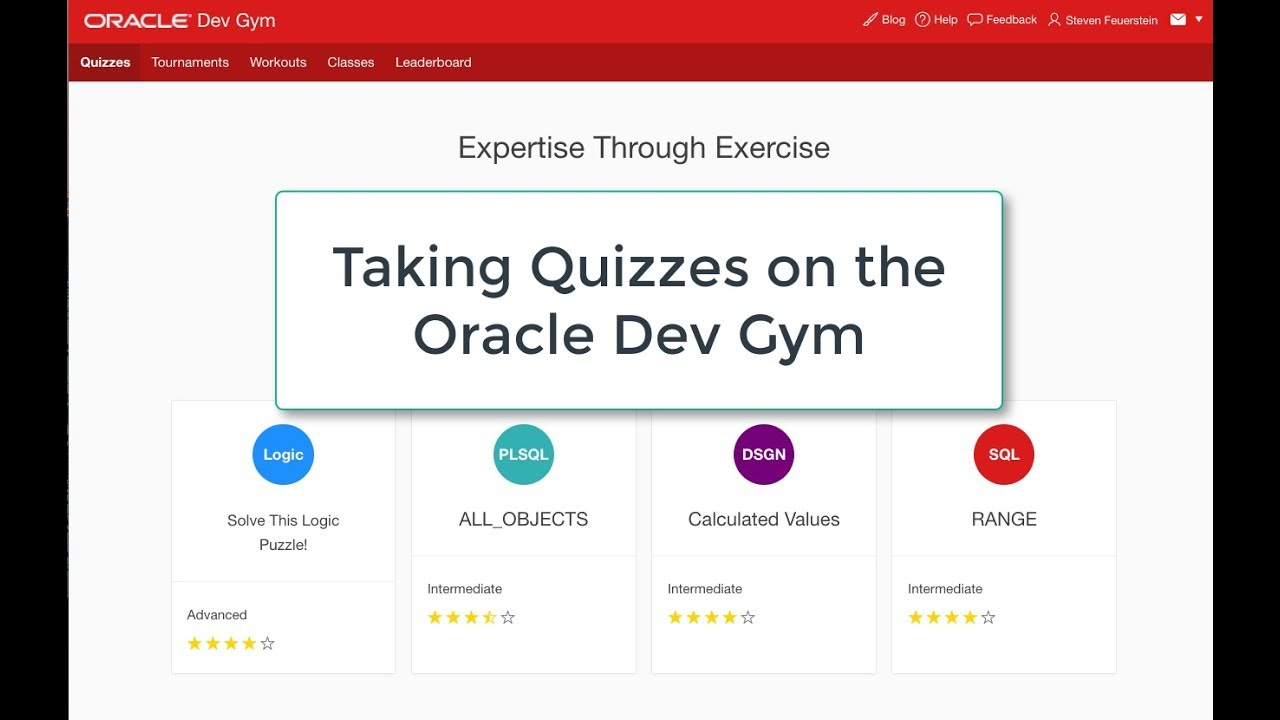 Introducing Dev Gym! Free Training on SQL and More | Oracle