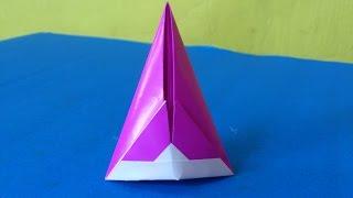 Cara Membuat Origami Topi Sombrero Sederhana | Origami Topi