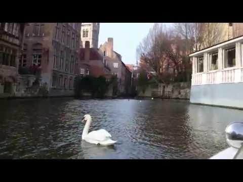 Brugge canal cruise