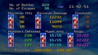 Legend of Legaia - 100% Treasure Guide