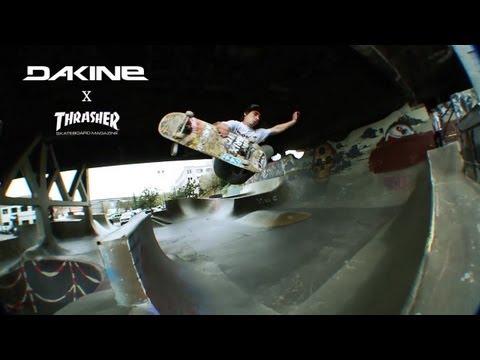 Dakine/ Thrasher bag collaboration video