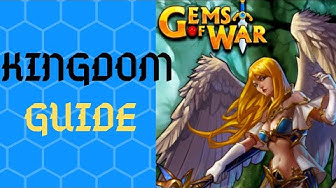 Kingdom Guide 2019 | Gems of War | Best home kingdom and how to level them up