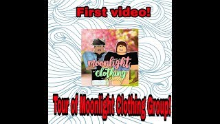 Tour of Moonlight Clothing Group! (MCG) - Roblox