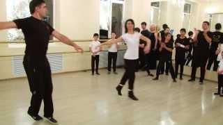 Кавказские танцы, старшая группа(Открытый урок в школе танцев