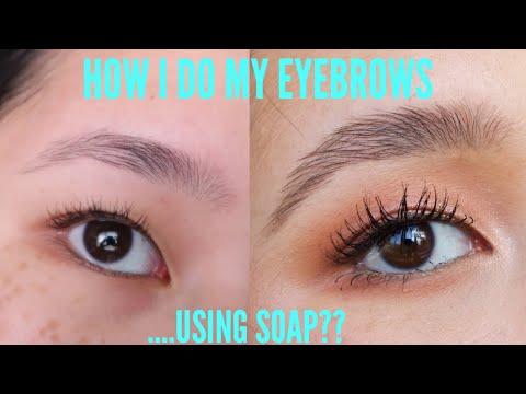 My Eyebrow Routine: SOAP BROWS 2 WAYS | Trisha Vu