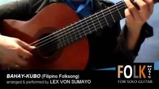 (FREE TABS) Bahay Kubo - Filipino Folksong (solo guitar cover)