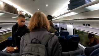 Eurostar London to Paris entire journey 2019