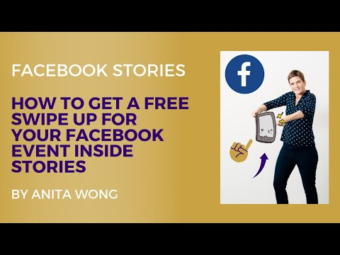 How To Use Free Facebook Stories Swipe Up Link Without 10K Followers To Promote Events