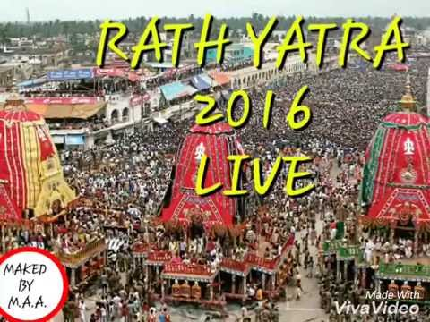 RATH YATRA 2016 LIVE JAGANATHPURI
