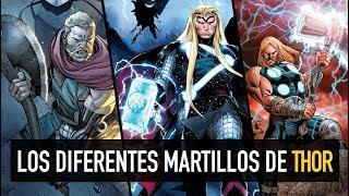 Los diferentes martillos de Thor