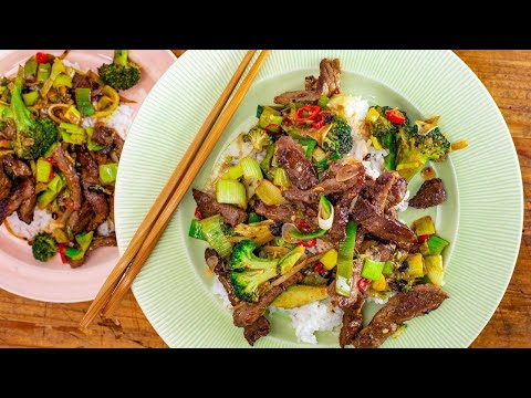 How To Make Chinese Beef And Broccoli With Black Bean Sauce By Rachael