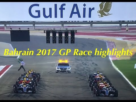 2017 Bahrain GP Race highlights