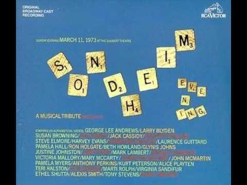 Stephen Sondheim - Silly People (1973)