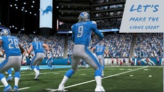 "Let's Make The Detroit Lions A Dynasty Madden 19 ""Back To Back Champs?"" Episode 5"