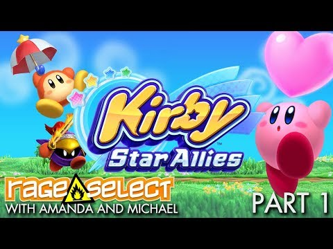 Kirby Star Allies - The Dojo (Let's Play) - Part 1