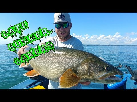 Late Summer Lake Trout!!