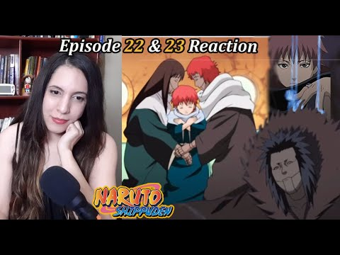 Naruto Shippuden Episode 22 & 23  Reaction. The Third Kazekage!