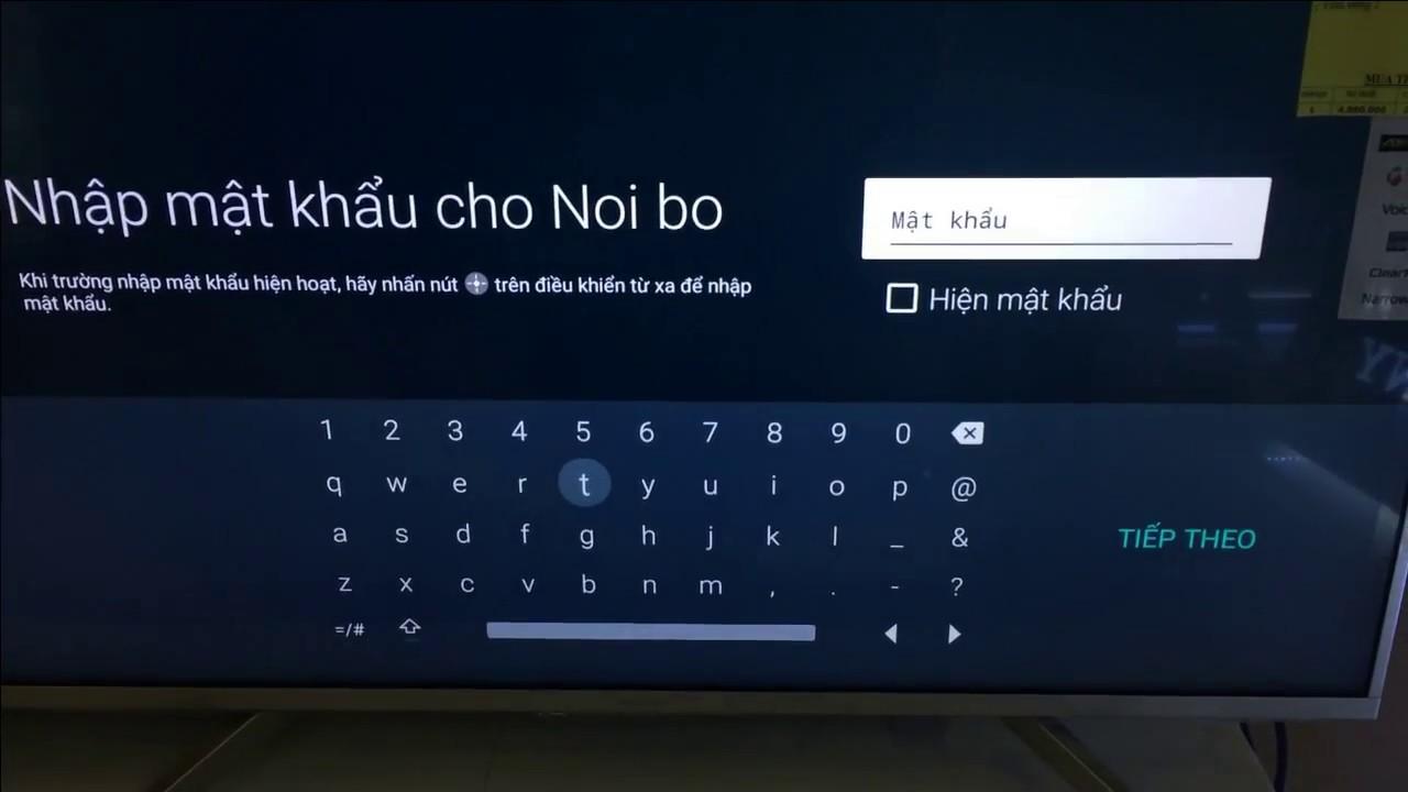 Cách khắc phục lỗi Tivi Sony mất bàn phím ảo và không nhận điều khiển