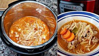 INSTANT POT RECIPES   Sopa De Fideo Recipe   Chicken And Fideo Recipe