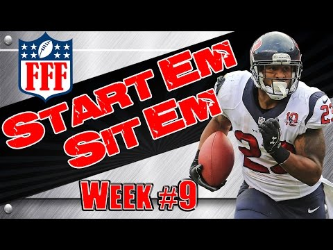 Week 9 Start