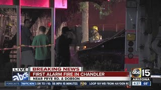 First alarm fire at Chandler apartment complex