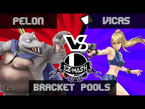 Ez-mash #5 - Pelón (King K. Rool) Vs. Vicas (ZSS) - Smash Ultimate Bracket Pools