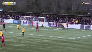 Maidstone United Vs Hampton & Richmond (25/01/13)