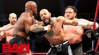 The Miz, Braun Strowman & Ricochet vs. Samoa Joe, Bobby Lashley & Cesaro: Raw, June 10, 2019