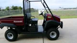 For Sale $10,499    Brand New  2013 Kawasaki Mule 4010 Diesel 4X4  Overview and Review