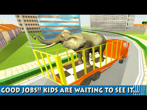 Big Animal Truck Transport Android GamePlay HD