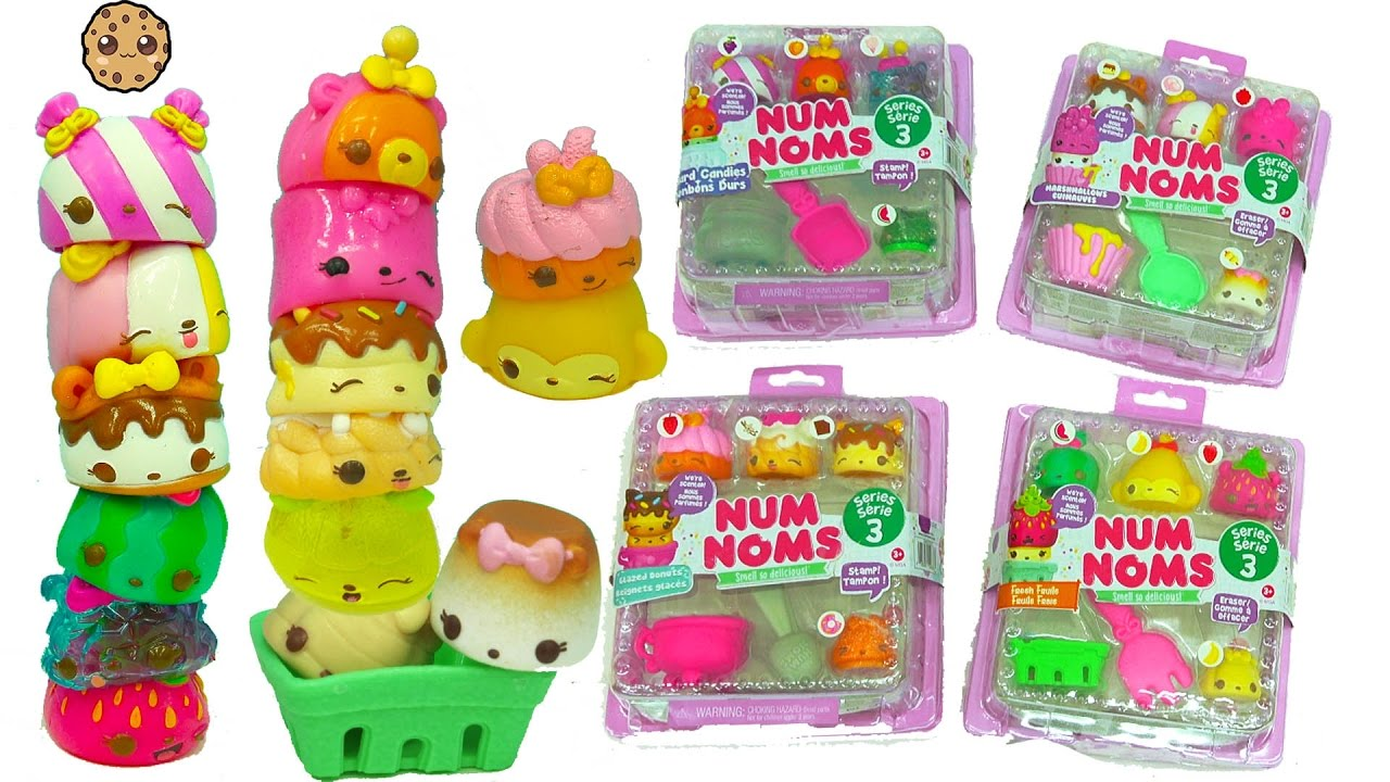 Num Noms Series 3 Hard Candies Marshmallows Fruit Foods
