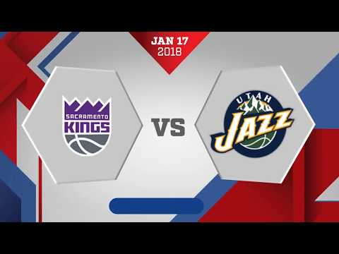 Utah Jazz vs. Sacramento Kings - January 17, 2018