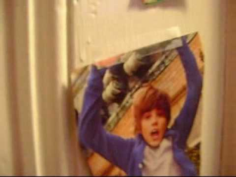 Justin Bieber Posters In my room