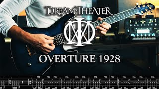 DREAM THEATER - Overture 1928 // Guitar Cover by George Mylonas w/TAB