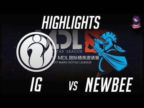 iG vs NewBee MDL 2017 Mars Dota 2 League 2017 Highlights by Time 2 Dota #dota2