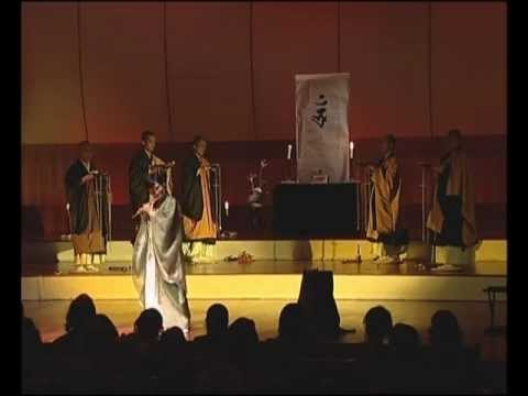 Michiko Akao Ensemble & Shingon Buddhist Monks(Japan) 2009 - 2 songs - 34 min.wmv