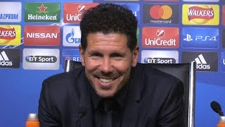Leicester City 1-1 Atletico Madrid (Agg 1-2) - Diego Simeone Full Post Match Press Conference